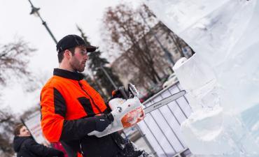 Meninis ledo skulptūrų konkursas