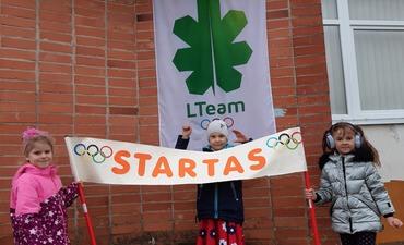 """Projektas ,,Olimpinė karta"""" pradeda startą"""