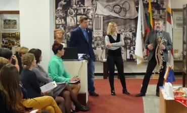 """Respublikinė mokinių ir mokytojų kūrybinių  bei tiriamųjų darbų konferencija """"Mano olimpas"""""""