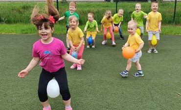"""Fizinio aktyvumo veikla """"Sportas sveikata – sportas nuotaika gera"""""""