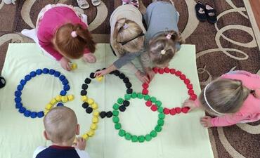 Olimpiniai žiedai iš antrinių žaliavų