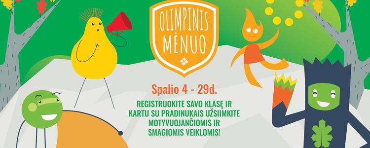 Spalis - Olimpinis mėnuo