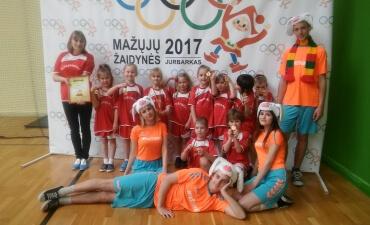"""Respublikinis ikimokyklinio amžiaus vaikų sporto renginys """"Mažųjų žaidynės 2017"""""""