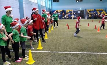 """Mažeikių """"Buratinas"""" švenčia futboliuko Kalėdas"""