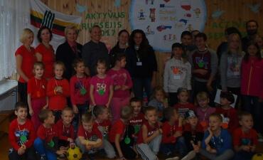 """""""Aktyvus rugsėjis 2017"""" Lazdijų mokykloje-darželyje """"Vyturėlis"""""""