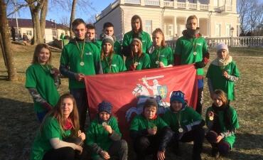 Butrimonių gimnazijos jaunieji šauliai Laisvės gynėjų dieną minėjo bėgdami