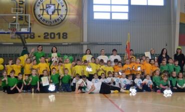 """Rajoninė Olimpinė diena  """"Žaidimų fiesta"""""""