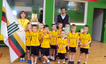 """Šalies ikimokyklinukų sporto renginys – """"Mažųjų žaidynės 2016"""""""