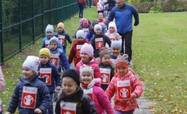 """Solidarumo bėgimas Druskininkų lopšelyje-darželyje """"Bitutė"""""""