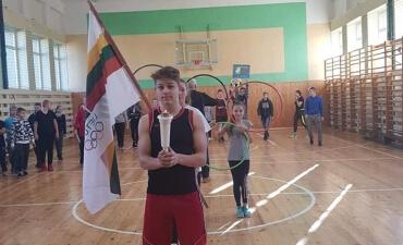 Vaiguvos Vlado Šimkaus pagrindinės mokyklos olimpinės žaidynės