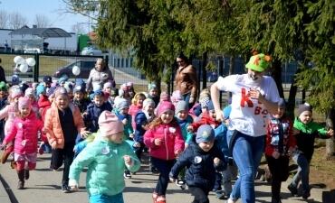 Masinio bėgimo akcija Radviliškyje